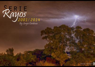 Placa Serie Rayos 2001-14