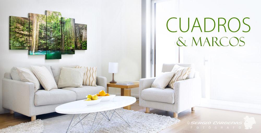 Cuadros Y Marcos de fotos para decoración de ambientes- en varios formatos y presentaciones.