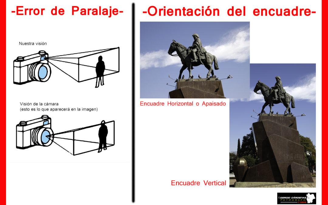 Error de paralaje & Orientación del encuadre (Horizontal o Vertical ...
