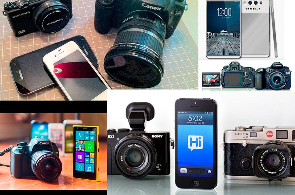 Cámaras fotográficas vs. cámaras de celulares (Smartphone)