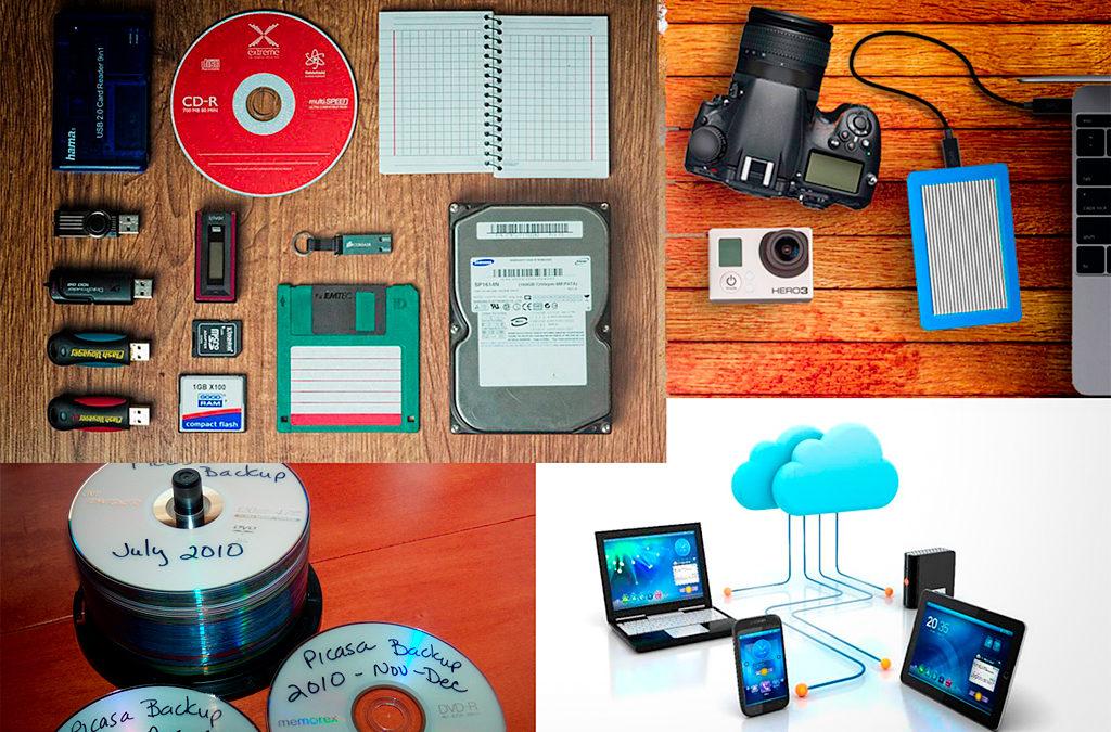 Como asegurarse de no perder nuestros archivos digitales de fotos