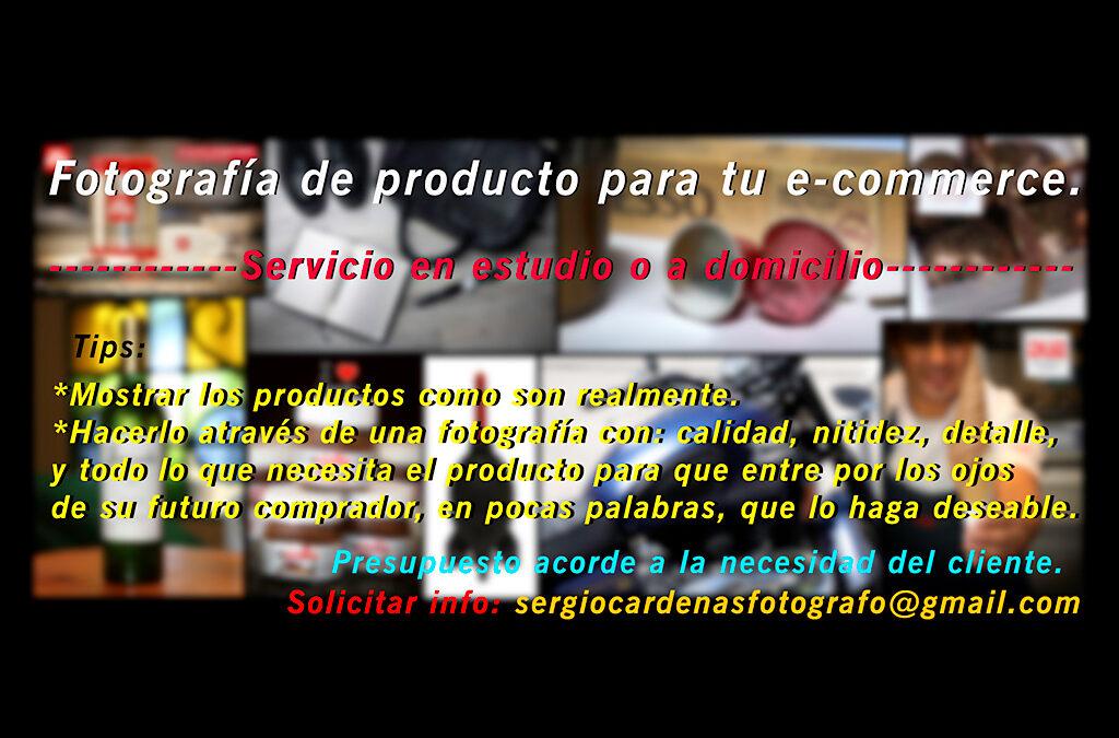Potencia tus ventas!! Servicio de fotografía de Productos (e-commerce)